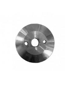 Шкив Буран крыльчатки (полушкив с отверстиями), алюминиевый (110500576)