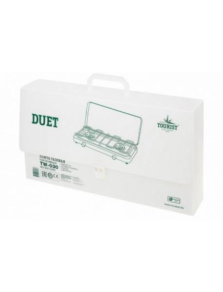 Плита газовая портативная TOURIST DUET (TW-030) - двухконфорочная