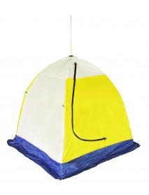 Палатка рыбака ELITE 1-м трехслойная (дышащая) h-1.5 м, ⌀-2 м (Стэк)