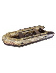Лодка Leader ТАЙГА-290 Киль ПВХ камуфляж, под мотор 5 л.с (С-Пб)