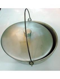 Котелок литой РОСТ 8,0л алюминевый.д.280