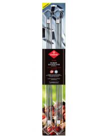 Шампуры двойные FORESTER для запекания мяса (4шт) RZ-500UB