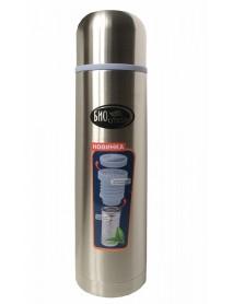 Термос Biostal NB-750Z 0,75л (узкое горло, пробка с ситечком)