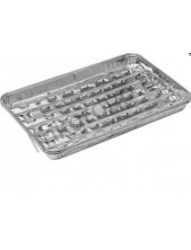 Форма из алюминия BOYSCOUT прямоугольные 3 шт,34х22,4х3,3см.