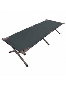 Кровать кемпинговая Woodland Camping bed, складная, 190 x 65 x 41 см (алюминий, цвет зеленый)