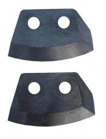 Ножи для ледобура HELIOS HS-110 полукруглые (Тонар)