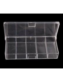 Коробочка СВ-01 прозрачная (5 отд.) (100*50*17мм)