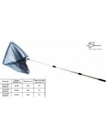 Подсачек тел. SWD 6-гран. ручка треуг. L-200,W1-57,W2-55см (5505061)