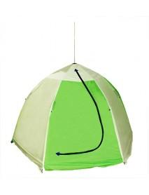 Палатка рыбака 2-м п/автомат брезент (ал. зв.) (Стэк)
