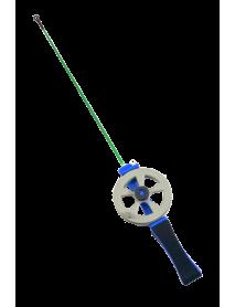Удочка зимняя SWD HR705 (d 58мм, ручка неопрен 7см, хл-кар 20см)