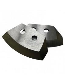 Ножи для ледобура HELIOS HS-130 полукруглые (Тонар)