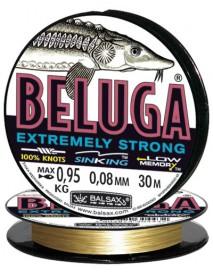 """Леска """"BELUGA"""" 30м 0,08 (0,88кг)"""