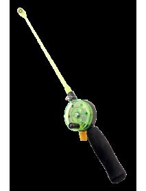 Удочка зимняя SWD HR102 (d 54мм,ручка неопрен 10см, хл -пл 20см)