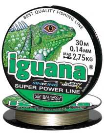 """Леска """"Iguana"""" 30м 0,14 (2,75кг)"""
