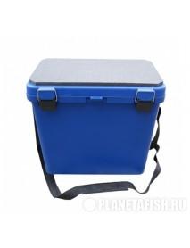 Ящик-М зимний односекционный синий Helios