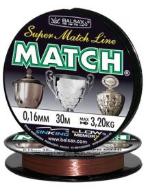 """Леска """"Match"""" 30м 0,16 (3,2кг)"""