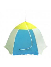 Палатка рыбака 3-м п/автомат н/тк (алюм.звездочка) (Стэк)