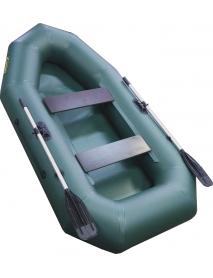 Лодка Leader КОМПАКТ-255 гребная ПВХ зеленый (С-Пб)