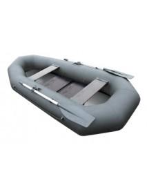 Лодка Leader КОМПАКТ-255 гребная ПВХ серый (С-Пб)