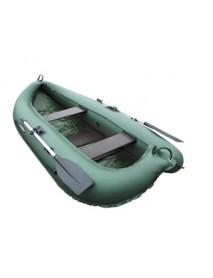 Лодка Leader КОМПАКТ-260 гребная ПВХ зеленый (С-Пб)