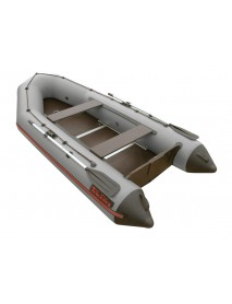 Лодка Leader ТАЙГА-320 Киль ПВХ серый, под мотор 10 л.с. (С-Пб)