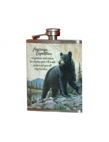 """Фляжка """"Медведь"""" А03-1 210 мл"""