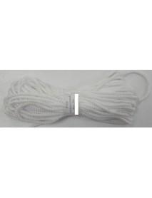 Шнур универсальный (полипропилен) 4,0мм (20м) (белый) (К)