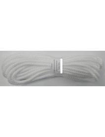 Шнур универсальный с сердечником (полипропилен) 5,0мм (10м)(белый) (К)