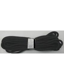 Шнур универсальный с сердечником (полипропилен) 5,0мм (10м)(черный)(К)