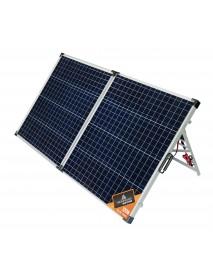 Солнечная панель складная Woodland Sun House 120W 128х67х4 (слож.64х67х8)