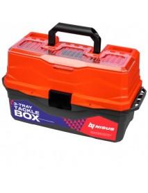 Ящик для снастей Tackle Box трехполочный NISUS оранжевый