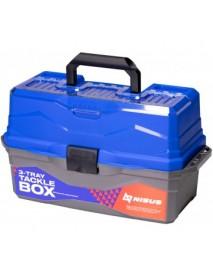 Ящик для снастей Tackle Box трехполочный NISUS синий
