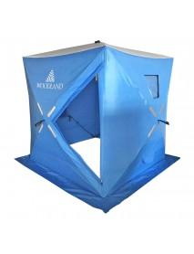 Палатка зимняя WOODLAND ICE FISH 4, 180х180х210 см (синий) NEW
