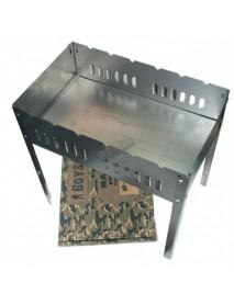Мангал BOYSCOUT 500х300х500х0,8мм, сборный без шампуров в коробке
