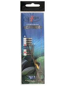 Поводки стальные DIXXON 1Х1 струна 12см, 20кг (10шт.)