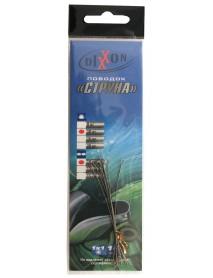Поводки стальные DIXXON 1Х1 струна 10см, 10кг (10шт.)