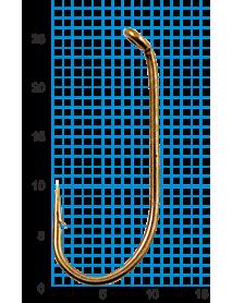 "Крючок SWD ""SCORPION"" FRENCH HOOK №2BR W/R (10шт.)"