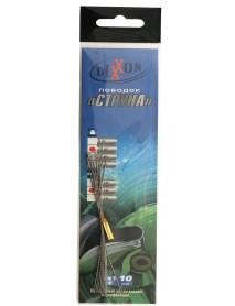 Поводки стальные DIXXON 1Х1 струна 12см, 10кг (10шт.)