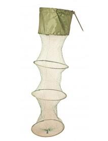 Садок береговой SWD 5к (d-30см,l-1,5м,нить,яч. 20мм,колышек) (5409011)