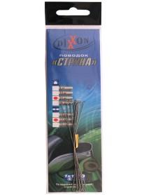 Поводки стальные DIXXON 1Х1 струна 12см, 15кг (10шт.)