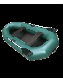 Лодка Leader КОМПАКТ-265 гребная ПВХ зеленый (С-Пб)