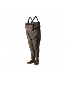 Полукомбинезон рыбацкий NORDMAN Box с сумкой и поясом, трехкомпонентное литье р.41